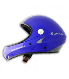 Casco No Limit Azul sin visera - Charly