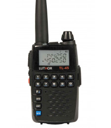 Walkie talkie bibanda VHF TL45 - Luthor