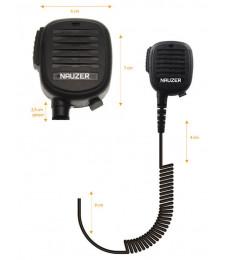 Micro PTT Alta Gama Profesional 2 Pin MIA-120-K - NAUZER