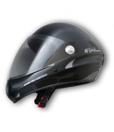 Casco No Limit Carbon-optic con visera transparente - Charly