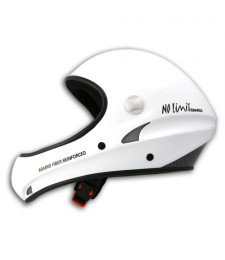 Casco No Limit Blanco sin visera - Charly