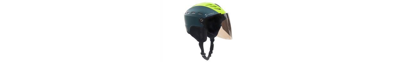 Amplia variedad de cascos para parapente