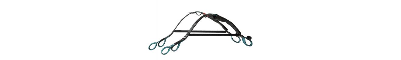 Separadores rígidos y flexibles para biplazas