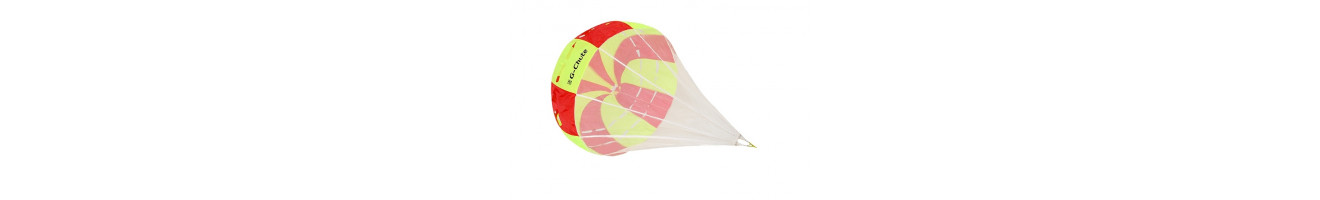 Paracaídas de frenado Anti-G